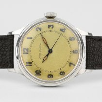 Jaeger-LeCoultre Steel Manual winding Arabic numerals 34mm pre-owned