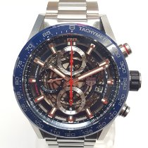 TAG Heuer Carrera Calibre HEUER 01 Steel 43mm Blue No numerals