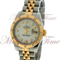 Rolex Datejust Ladies 26mm, Mother of Pearl Diamond Dial, 12...