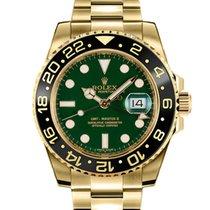 Rolex 116718LN Gulguld 2018 GMT-Master II ny