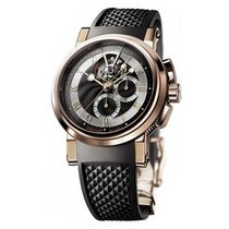 Breguet Marine Tourbillon 42mm 18K Rose Gold
