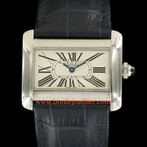Cartier Tank Divan occasion Acier