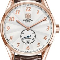 TAG Heuer Carrera Calibre 6 Rose gold 41.6mm Silver United States of America, New York, Brooklyn