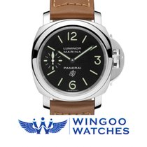 Panerai LUMINOR MARINA LOGO ACCIAIO - 44MM Ref. PAM01005