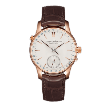 Moritz Grossmann ATUM Date Rose gold 41mm Silver (solid)