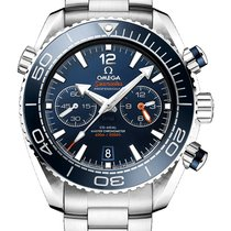 Omega Seamaster Planet Ocean Chronograph 215.30.46.51.03.001 2019 new