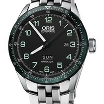 Oris Calobra Steel 44mm Black United States of America, New York, Airmont