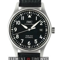 IWC Pilot Collection Mark XVIII 40mm Stainless Steel Black...