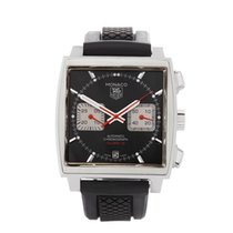 TAG Heuer Monaco Chronograph Stainless Steel Gents CAW2114 -...