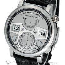 A. Lange & Söhne Zeitwerk Platinum 42.2mm Silver