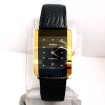 Rado FLORENCE Date Quartz Gold Electroplated & Stainless Steel Me