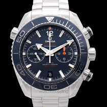 Omega Seamaster Planet Ocean Chronograph Steel Blue United States of America, California, San Mateo