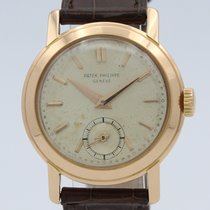 Patek Philippe Calatrava Rose gold 33mm Champagne No numerals