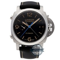 Panerai Luminor 1950 3 Days Chrono Flyback pre-owned 44mm Steel