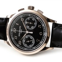 Patek Philippe Chronograph occasion 39mm Or blanc