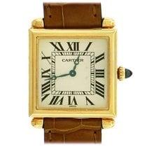 Cartier Tank (submodel) Yellow gold 24mm Roman numerals
