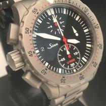 Sinn U1000 EZM 6 Chronograph Swiss Automatic Diver 1000m 44mm...
