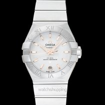 Omega Constellation Ladies new Automatic Watch with original box and original papers 127.10.27.20.02.001
