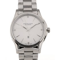 Hamilton Jazzmaster Lady Staal 34mm Zilver
