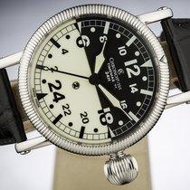 Chronoswiss Timemaster Steel 44mm Black Arabic numerals