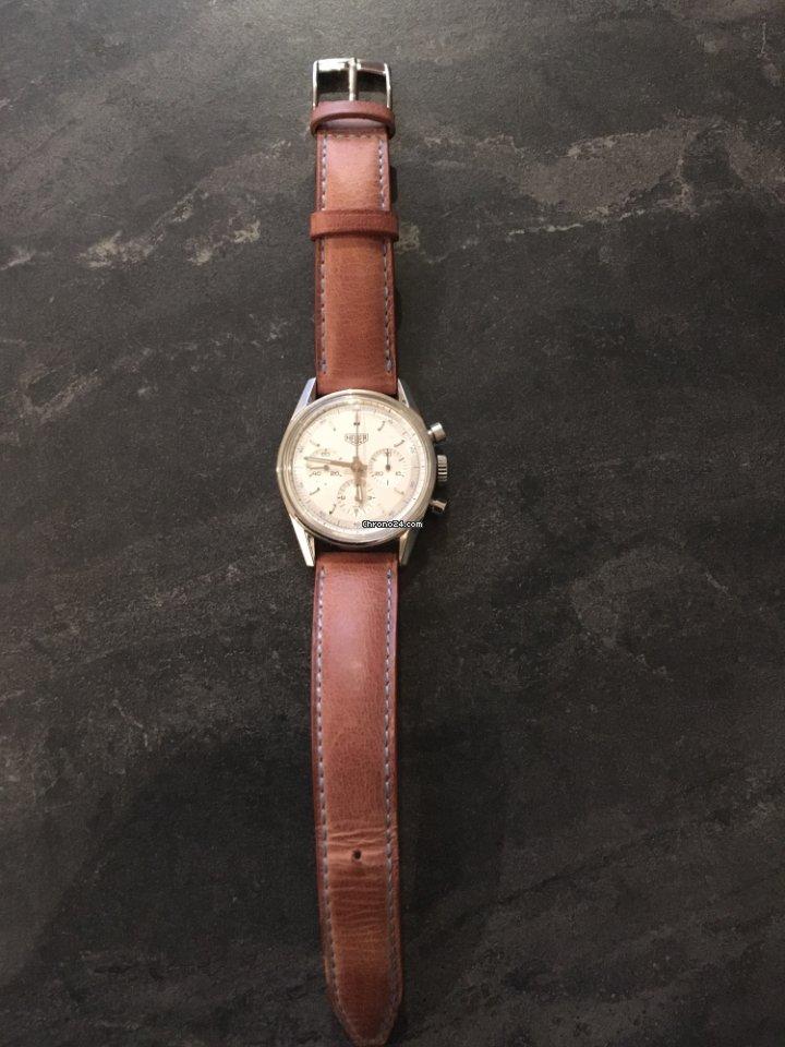 TAG Heuer Ré édition Carrera 1964 Chronographe Lemania 1873