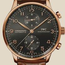 IWC Portuguese Chronograph Pозовое золото 41mm Чёрный Россия, Moscow