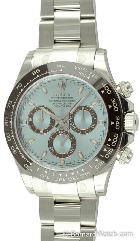 Hodinky Rolex Daytona Platina  93297fca10