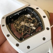 Richard Mille 49.9mm Cuerda manual 2012 usados RM 055 Transparente