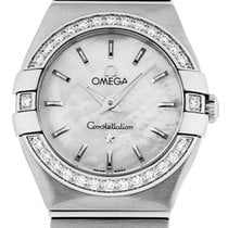 Omega Constellation Quartz 24mm Mother of pearl United States of America, California, Los Angeles