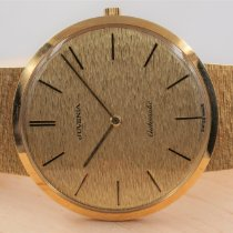 Juvenia Yellow gold 35mm Automatic pre-owned