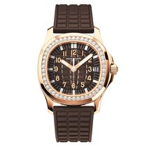 Patek Philippe Aquanaut Rose gold Brown Arabic numerals United States of America, California, Newport Beach