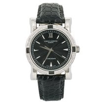 Cuervo y Sobrinos pre-owned Automatic 42mm Black Sapphire crystal 3 ATM