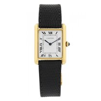 Cartier Tank Louis Cartier Yellow gold 24mm White United States of America, New York, New York