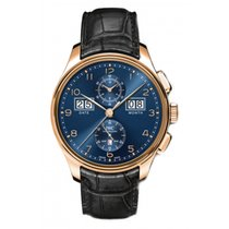 IWC Portuguese Perpetual Calendar Digital Date-Month Red gold