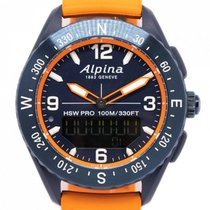 Alpina Steel 46mm Alpiner pre-owned