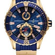 Ulysse Nardin Diver Chronometer Rose gold Blue United States of America, Florida, North Miami Beach