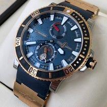 Ulysse Nardin Hammerhead Shark Gold/Steel 45mm Blue