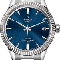 Tudor Style Steel 34mm Blue United States of America, California, Moorpark