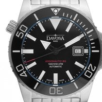 Davosa Argonautic Ceramic Steel 42mm Black