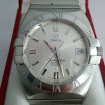Omega Constellation Double Eagle Steel Silver