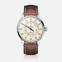 Meistersinger Pangaea Day Date PDD903 New Steel 40mm Automatic