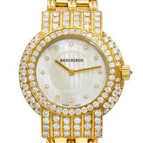 Boucheron 34mm Quartz LET SOLIS pre-owned