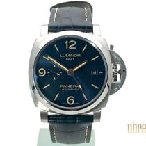 Panerai Luminor GMT Automatic Acero 44mm Azul Árabes
