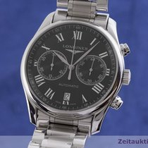 Longines Master Collection Zeljezo 40mm Crn