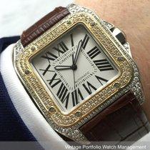 Cartier Santos 100 Stal 40mm