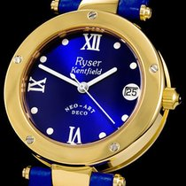 Ryser Kentfield Gold/Steel 35mm Automatic RK 315 Dolphin new