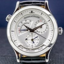 Jaeger-LeCoultre Master Geographic Stahl 38mm Silber