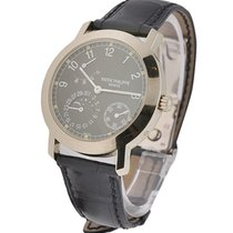 Patek Philippe 5055G blk Moonphase Power Reserve ef 5055G in...