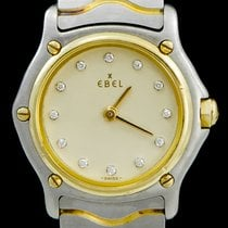 Ebel pre-owned Quartz 24mm Gold Sapphire crystal