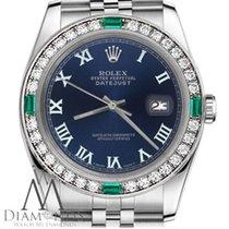 Rolex Lady-Datejust Steel 26mm Blue Roman numerals